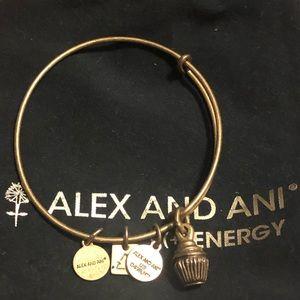 Alex and Ani cupcake bracelet